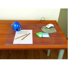 Коврик на стол Bantex (49х65 см, прозрачный, антибликовый)