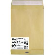 Пакет Крафт E4 300х400х40 стрип Extrapack (120 г/кв.м, 25 шт/уп)