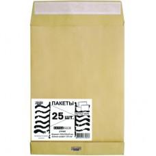 Пакет Крафт С4 стрип Extrapack (230х330х40, 120 г, 25 штук)