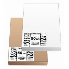 Пакет С4 Businesspack стрип (белый, 229х324 мм,120 г/кв.м,50 шт/уп)