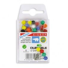 Кнопки силовые цветные Durable (15мм.50 шт/ уп)