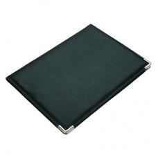 Папка из искусственной кожи Attache  черная (330x250 мм)