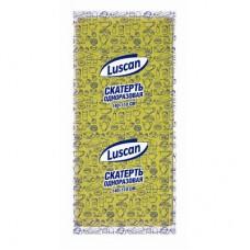 Скатерть одноразовая Luscan желтая,110x140 см.