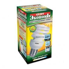 Лампа энергосберегающая СТАРТ  20W (100Вт) E27 тепл. белый