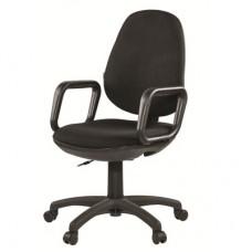 Кресло Comfort черное (ткань/пластик)