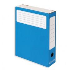 Короб архивный Attache 75 мм  синий (5 штук в упаковке)