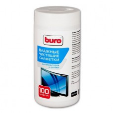 Чистящие салфетки Buro для мониторов,телевизоров (100 шт.)