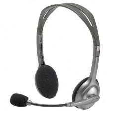 Гарнитура Logitech Stereo Headset H110 2xmini jack