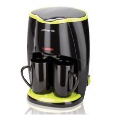 Кофеварка капельная Polaris PCM 0210 черная/салатовая