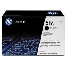 Тонер-картридж HP Q7551A черный для LaserJet P3005, M3027, M3035