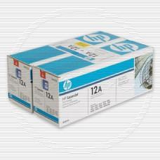 Тонер-картридж HP Q2612AD черный для LaserJet 1010, 1012, 1015, 1018, 1020, 1022