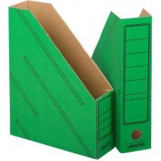 Лоток вертикальный Attache картон  ширина 75 мм. (2шт/уп,цвета в ассортименте)