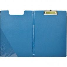 Планшет с крышкой синий Bantex