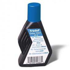Штемпельная краска Trodat 28 мл. водная основа,синяя