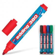Набор маркеров для флипчарта EDDING (4шт/1,5-3мм)