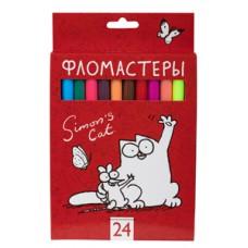 Фломастеры 24 цвета Hatber  в Екатеринбурге