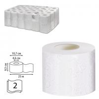 Бумага туалетная Veiro Т207 профессиональная многослойная белая 25 мет.( 8шт/уп.)