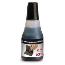 Штемпельная краска COLOP 25мл. водно-глицериновая основа,черная