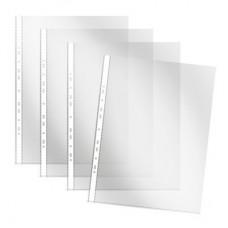 Папка-файл А4 Attache 40 мкм. прозрачный,рифленый (100шт/уп.)