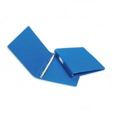 Папка на 4 кольца  Bantex (ширина корешка 35мм. диаметр кольца 19мм) синяя