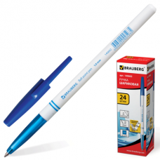 Ручка шариковая BRAUBERG 1мм, синяя