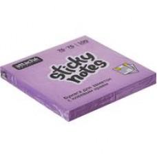 Блок стикеров Attache Selection 76x76мм фиолетовые Неон (100 листов)
