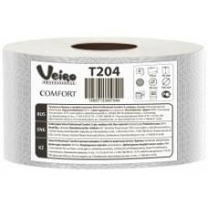 Бумага туалетная в больших рулонах Veiro Professional Comfort 2 слойная  170 метров (12шт)
