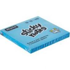 Блок бумаги самокл. Attache Selection 76x76мм голубые Неон (100 листов)