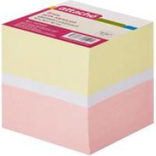 Блок бумаги Attache на склейке (9 х 9 х 9 цветной блок)