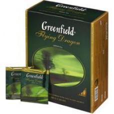 Чай Greenfield Flying Dragon зеленый 100 пакетиков