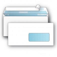 Конверт  евро  110*220 силикон с окном (внизу справа)