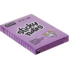 Блок стикеров Attache Selection 76x51 мм фиолетовые Неон (100 листов)