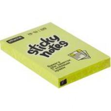Блок стикеров Attache Selection 76x51 мм зеленые Неон (100 листов)