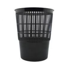 Корзина для бумаг 10л. решетчатая черная