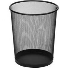 Корзина круглая, метал. сетка,d-295  20л.(черная)