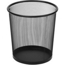Корзина круглая, метал. сетка,d225  6,7л.(черная)