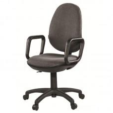 Кресло Comfort  серое (ткань/пластик)
