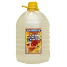"""Жидкое  мыло-крем """"ЛЕДИ-Е"""" ассорти  5 лит."""
