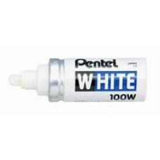 Маркер специальный лаковый  PENTEL X100W белый 6,5 мм.