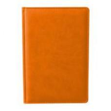 Ежедневник недатированный Attache Сиам А5 176 л. оранжевый (143x210 мм)