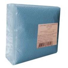 Салфетки бумажные  (1-слойные, 24x24 см, голубые, )