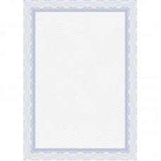 Сертификат-бумага Decadry А-4  синяя (25л/уп)