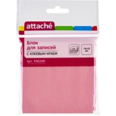 Стикеры Attache 76x76 мм пастельные в ассортименте (4 цвета)100 листов