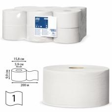 Бумага туалетная TORK  200м.
