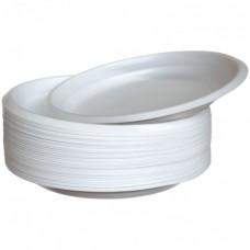 Тарелка D170 одноразовая плотная (100 шт/уп.)