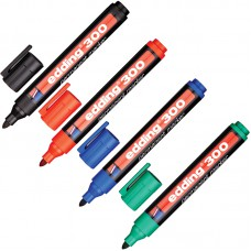 Набор маркеров перманентных Edding E-300 ( 1.5-3 мм, 4 шт/уп) купить в Екатеринбурге