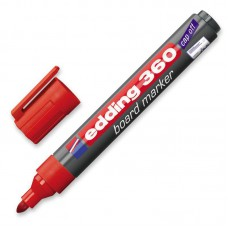 Маркер для досок Edding-360 красный, 1.5-3 мм