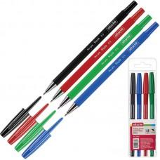 Набор шариковых ручек Attache Style (толщина линии 0.5 мм./4 цвета)
