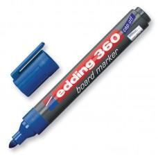 Маркер для досок Edding-360 синий, 1.5-3 мм