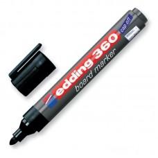 Маркер для досок Edding-360 черный, 1.5-3 мм